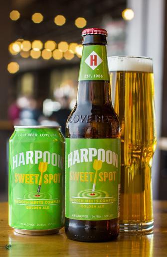 Beer Review: Harpoon SweetSpot